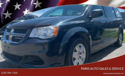 2013 Dodge Grand Caravan for sale at Paris Auto Sales & Service in Big Rapids MI