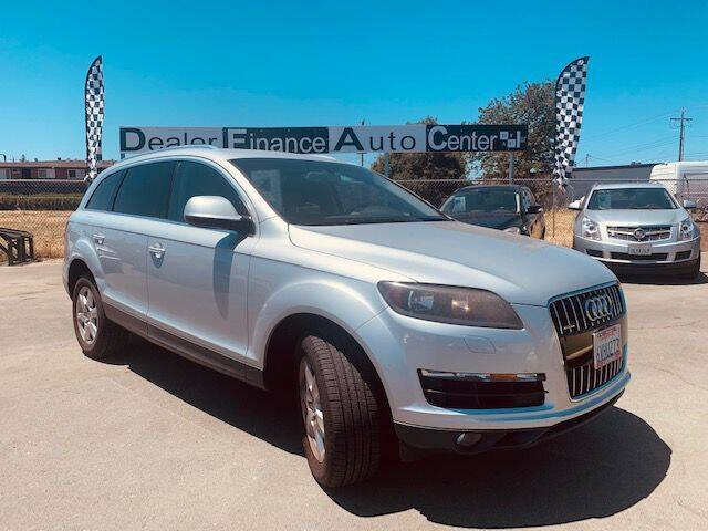 2012 Audi Q7 for sale at Dealer Finance Auto Center LLC in Sacramento CA