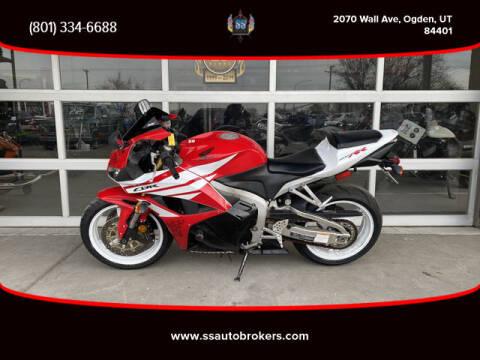 2012 Honda CBR600RR for sale at S S Auto Brokers in Ogden UT
