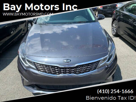 2019 Kia Optima for sale at Bay Motors Inc in Baltimore MD