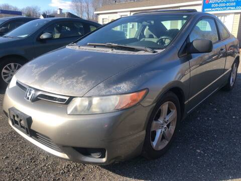 2008 Honda Civic for sale at AUTO OUTLET in Taunton MA