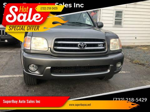 2003 Toyota Sequoia for sale at SuperBuy Auto Sales Inc in Avenel NJ
