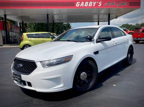 2018 Ford Taurus for sale at GABBY'S AUTO SALES in Valparaiso IN