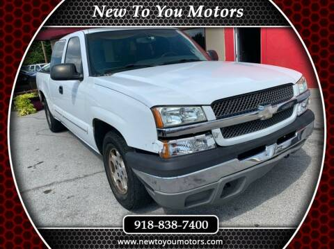2003 Chevrolet Silverado 1500 for sale at New To You Motors in Tulsa OK