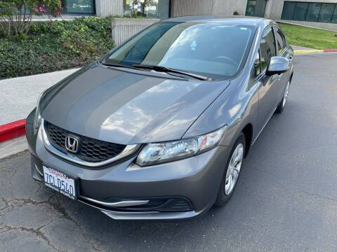 2013 Honda Civic for sale at MSR Auto Inc in San Diego CA