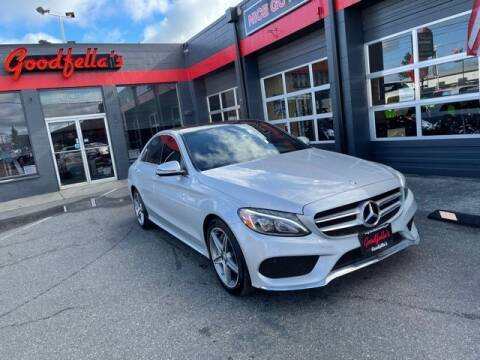 2017 Mercedes-Benz C-Class for sale at Goodfella's  Motor Company in Tacoma WA