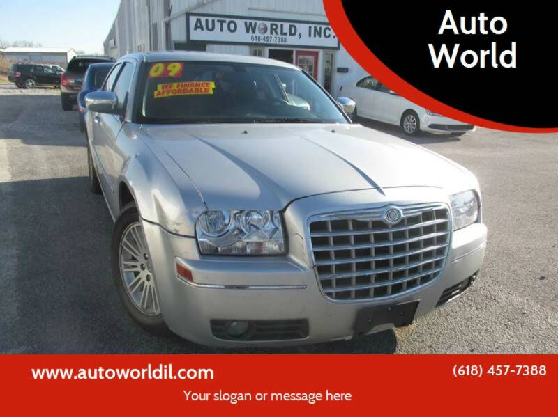 2009 Chrysler 300 for sale at Auto World in Carbondale IL