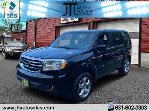 2014 Honda Pilot for sale at JTL Auto Inc in Selden NY
