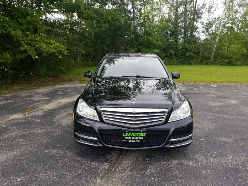 2013 Mercedes-Benz C-Class for sale at L & R Motors in Greene ME