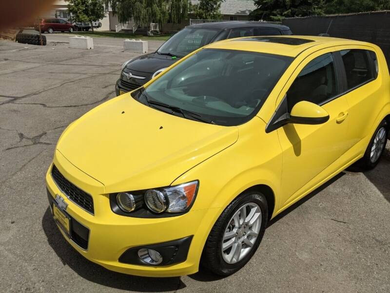 2016 Chevrolet Sonic for sale at G.K.A.C. in Twin Falls ID