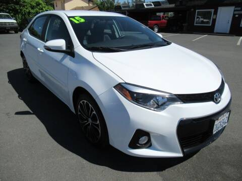 2015 Toyota Corolla for sale at Tonys Toys and Trucks in Santa Rosa CA