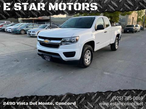 2016 Chevrolet Colorado for sale at E STAR MOTORS in Concord CA