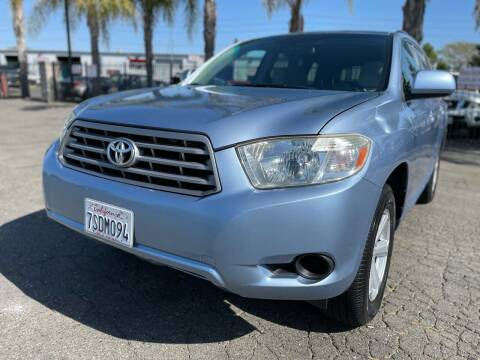 2008 Toyota Highlander for sale at Moun Auto Sales in Rio Linda CA