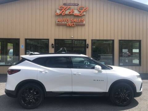 2020 Chevrolet Blazer for sale at K & L AUTO SALES, INC in Mill Hall PA