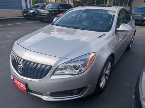 2014 Buick Regal for sale at CLASSIC MOTOR CARS in West Allis WI