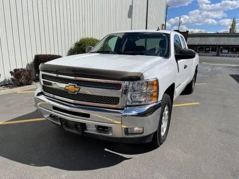 2013 Chevrolet Silverado 1500 for sale at DAVENPORT MOTOR COMPANY in Davenport WA
