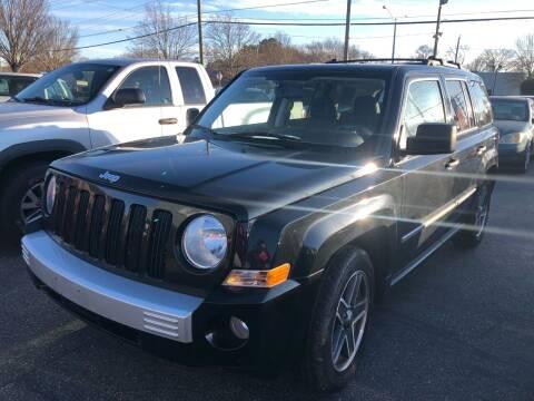 2009 Jeep Patriot for sale at Beach Auto Sales in Virginia Beach VA