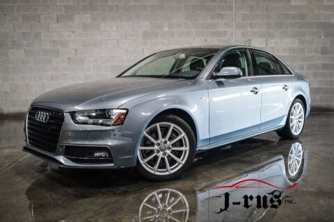 2014 Audi A4 for sale at J-Rus Inc. in Macomb MI
