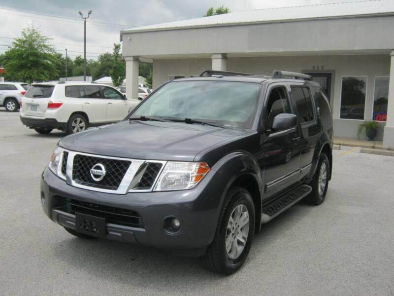 2012 Nissan Pathfinder for sale at Premier Motor Co in Springdale AR