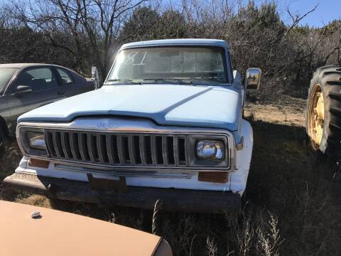 1981 Jeep J-10 Pickup for sale at CLASSIC MOTOR SPORTS in Winters TX
