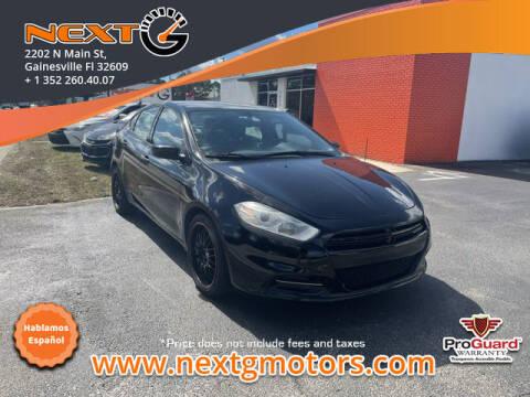 2013 Dodge Dart for sale at Next G Motors in Gainesville FL