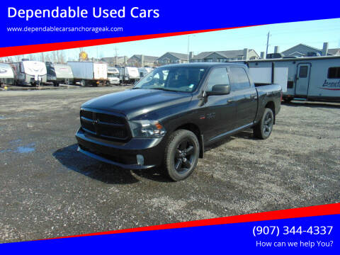 2018 RAM Ram Pickup 1500 for sale at Dependable Used Cars in Anchorage AK