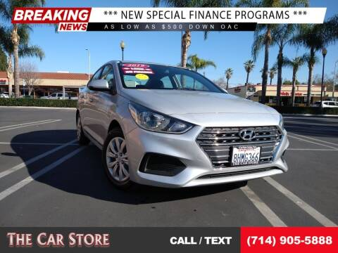 2019 Hyundai Accent for sale at The Car Store in Santa Ana CA