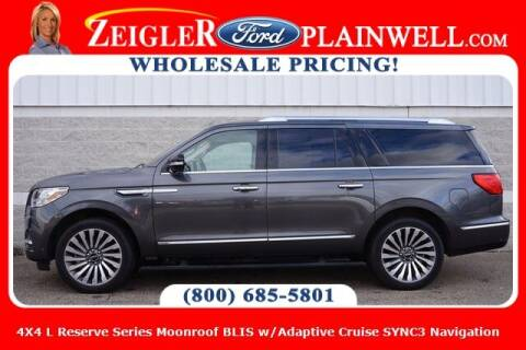 2018 Lincoln Navigator L for sale at Zeigler Ford of Plainwell- Jeff Bishop in Plainwell MI