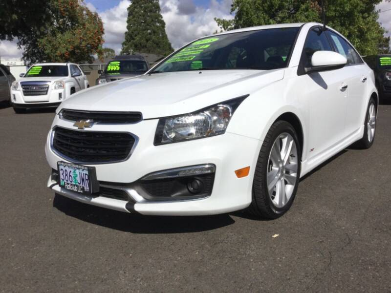 2015 Chevrolet Cruze for sale at Pacific Auto LLC in Woodburn OR