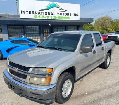 2004 Chevrolet Colorado for sale at International Motors Inc. in Nashville TN