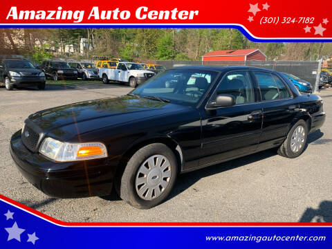 2009 Ford Crown Victoria for sale at Amazing Auto Center in Capitol Heights MD