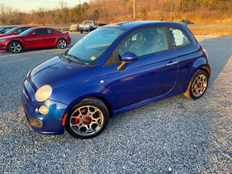 2012 FIAT 500 for sale at Bailey's Auto Sales in Cloverdale VA