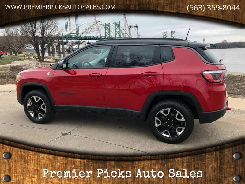 2017 Jeep Compass for sale at Premier Picks Auto Sales in Bettendorf IA