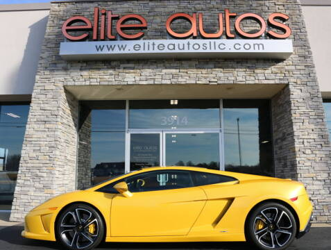 2013 Lamborghini Gallardo for sale at Elite Autos LLC in Jonesboro AR