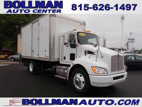 2012 Kenworth T270 for sale at Bollman Auto Center in Rock Falls IL