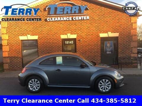 2017 Volkswagen Beetle for sale at Terry Clearance Center in Lynchburg VA