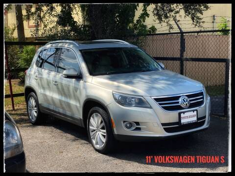 2011 Volkswagen Tiguan for sale at ASTRO MOTORS in Houston TX