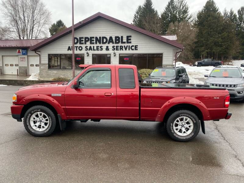 2011 Ford Ranger for sale at Dependable Auto Sales and Service in Binghamton NY