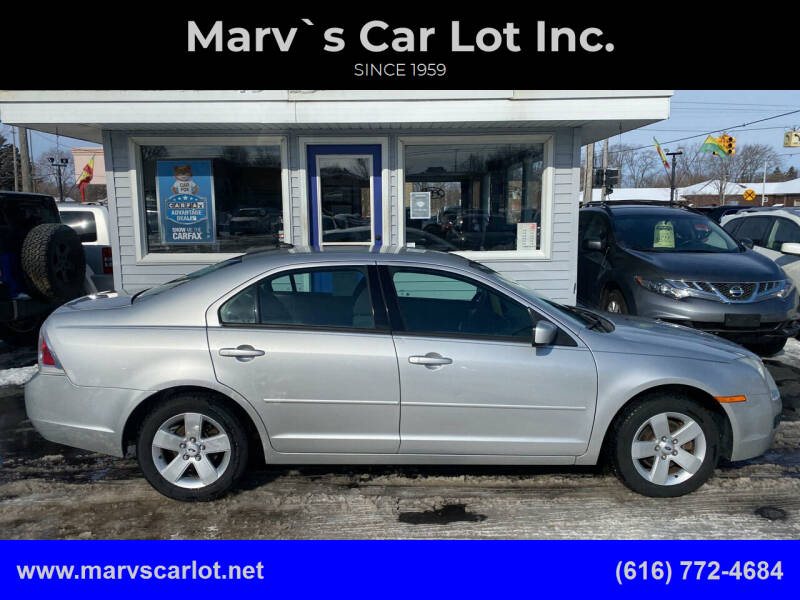2009 Ford Fusion for sale at Marv`s Car Lot Inc. in Zeeland MI