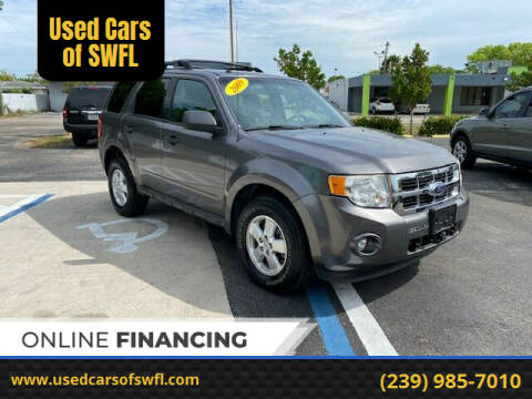 2009 Ford Escape for sale at Used Cars of SWFL in Fort Myers FL