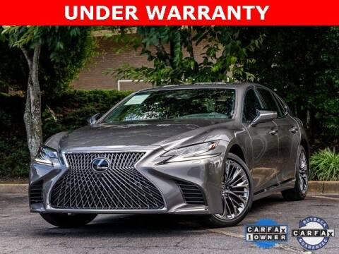 2018 Lexus LS 500 for sale at Gravity Autos Atlanta in Atlanta GA