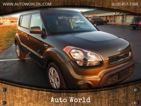 2013 Kia Soul for sale at Auto World in Carbondale IL