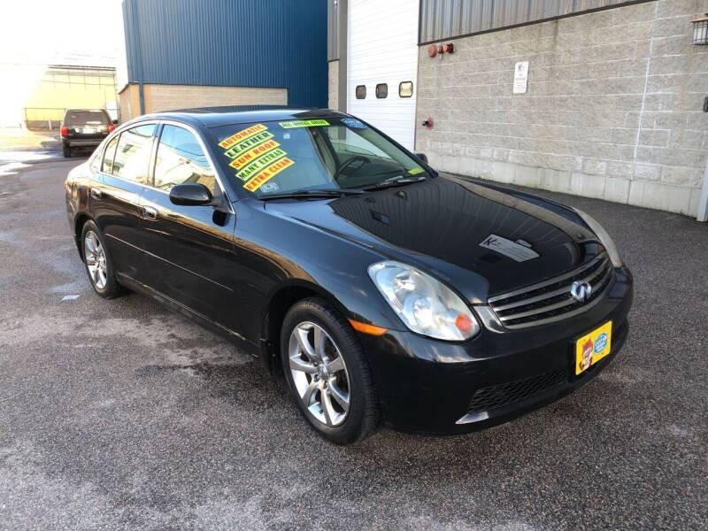 2005 Infiniti G35 for sale at Adams Street Motor Company LLC in Boston MA