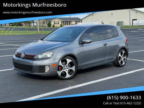 2012 Volkswagen GTI for sale at Motorkings Murfreesboro in Murfreesboro TN