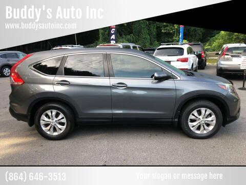 2012 Honda CR-V for sale at Buddy's Auto Inc in Pendleton SC