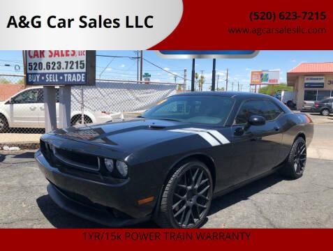 2013 Dodge Challenger for sale at A&G Car Sales  LLC in Tucson AZ