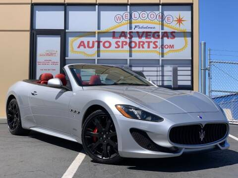 2016 Maserati GranTurismo for sale at Las Vegas Auto Sports in Las Vegas NV