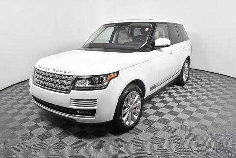 2016 Land Rover Range Rover for sale at Southern Auto Solutions-Jim Ellis Volkswagen Atlan in Marietta GA