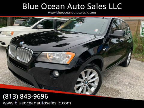 2014 BMW X3 for sale at Blue Ocean Auto Sales LLC in Tampa FL
