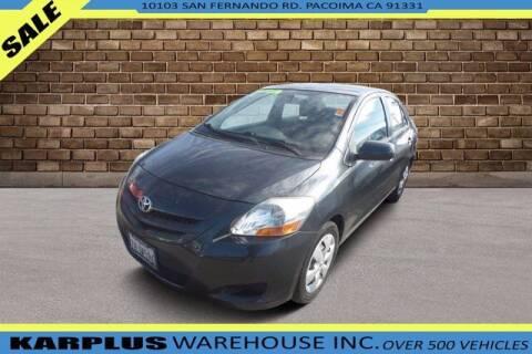 2008 Toyota Yaris for sale at Karplus Warehouse in Pacoima CA